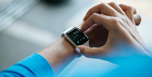 Wearables demand intuitive minimalist interfaces