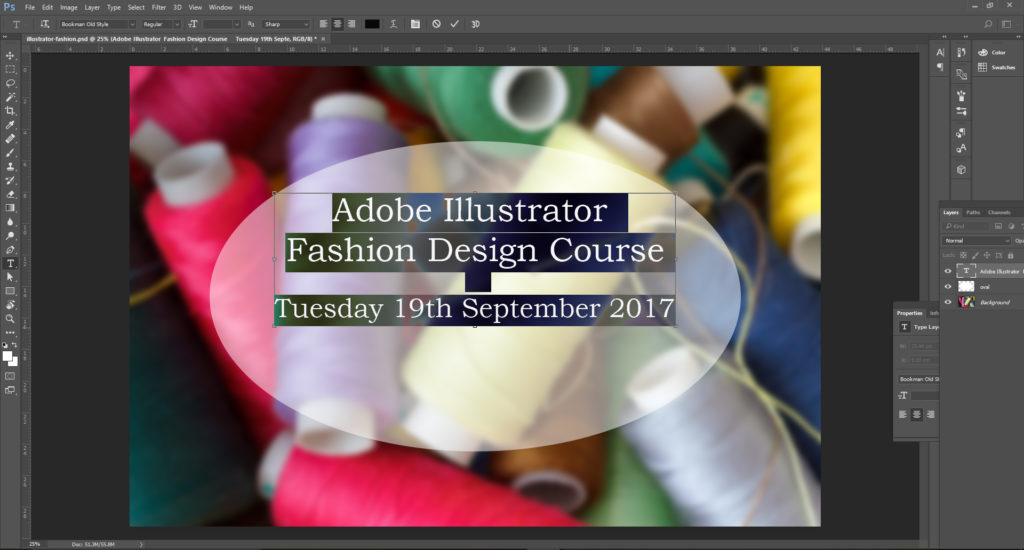 How to Add Text to Images Using Photoshop | Platform 39