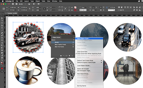 indesign object styles