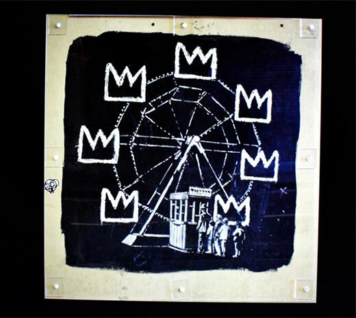 Finished Banksy Image