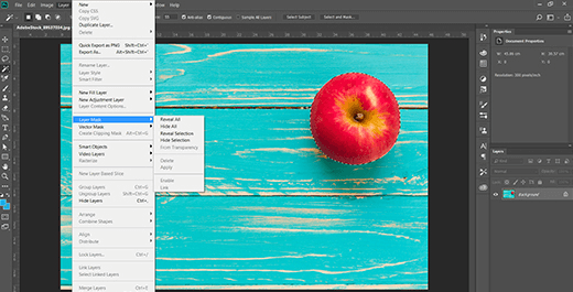 Remove an Image Background in Photoshop