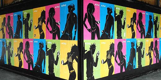iPod NY poster campaign
