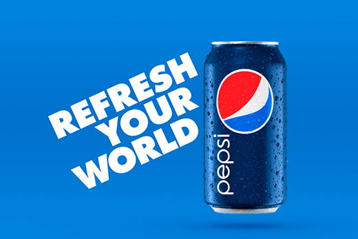 Pepsi refresh your world campaign