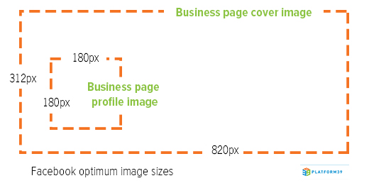 facebook business page cover image size